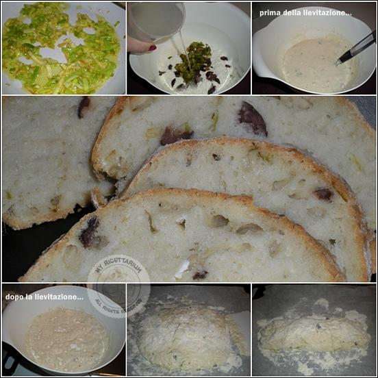 Filone con porro ed olive
