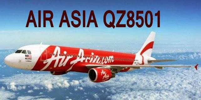 Gambar Foto Pesawat Terbang Air Asia QZ8501 Yang Hilang Kontak 28 Desember 2014