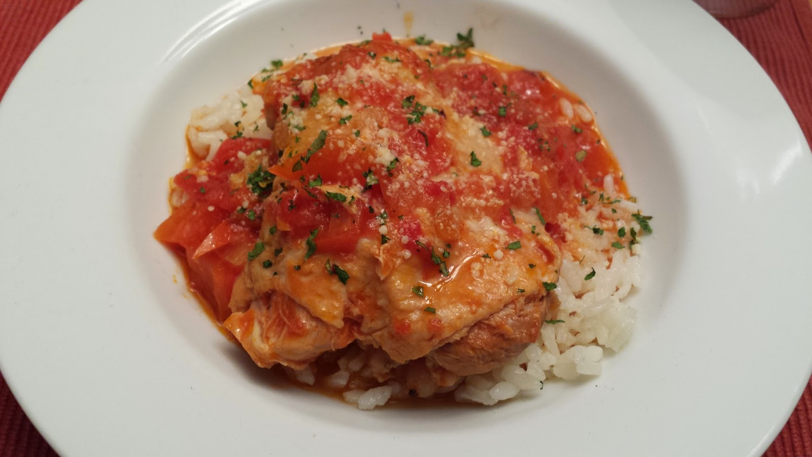 Pollo alla Cacciatore, Hunter-Style Chicken