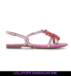 Lollipops sandalias