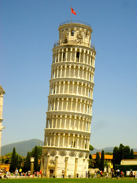 The Leaning Tower of Pisa, Tuscany, Italy