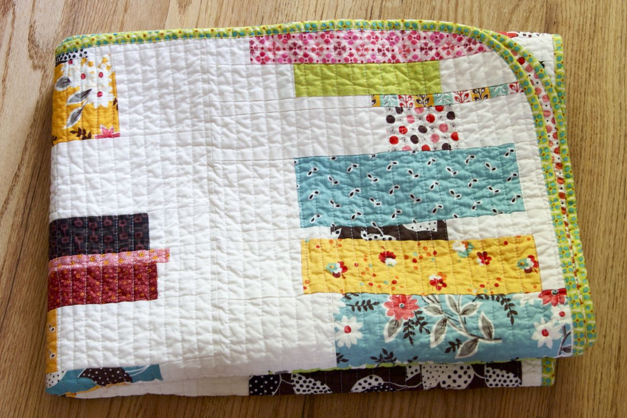 a quilt is nice: stacked!