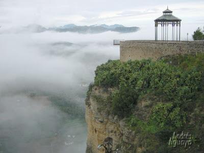 Paseo Alameda del Tajo Ronda viajes y turismo