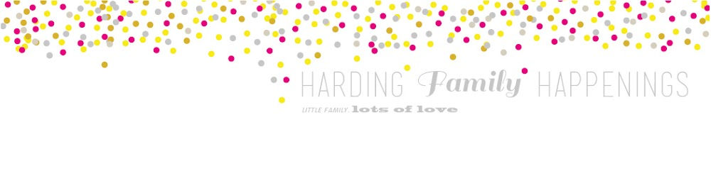 harding [family] happenings