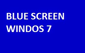 Mengatasi Blue Screen Windows 7 di Netbook