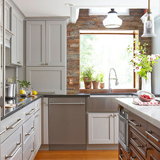 Kitchen Backsplash Same As Countertop: Kitchen Love: Backsplashes
