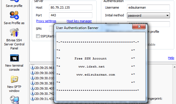 Free Download SSH Account USA 29 Agustus 2014
