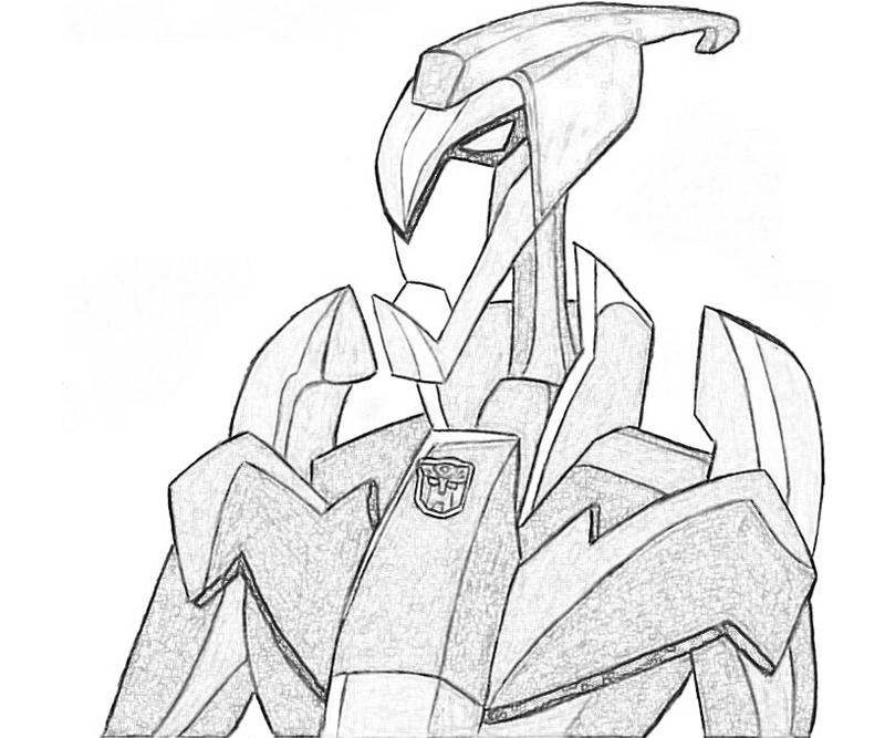 Transformers Fall of Cybertron Swoop Character Surfing