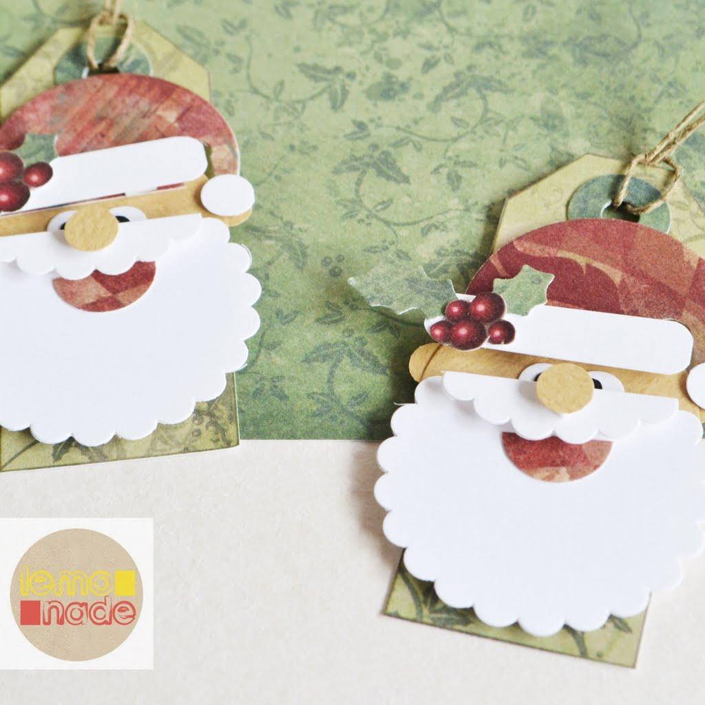Świąteczne tagi ze św. Mikołajem