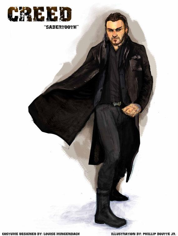 Liev Schreiber Sabretooth Costume