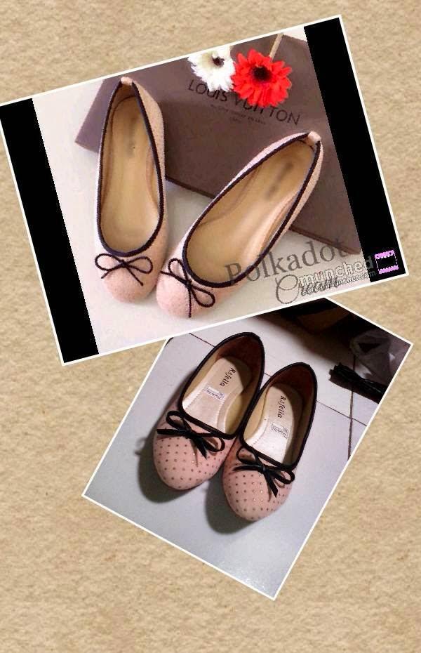 Sepatu Cewek Flat Sepatu Cewek Flat Selena Pink