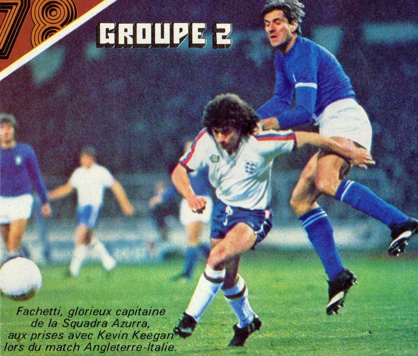 Soccer Nostalgia November 16 1977 England 2 Italy 0