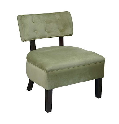 green accent chairs for living room