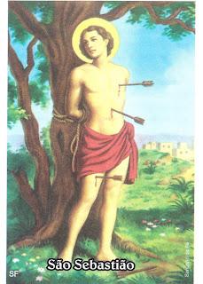 Hoje é dia de São Sebastião