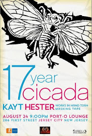 17 Year Cicada - New Works by Kayt Hester