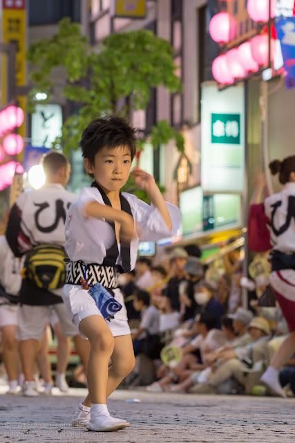 三鷹阿波踊り びっくり連の子供踊り