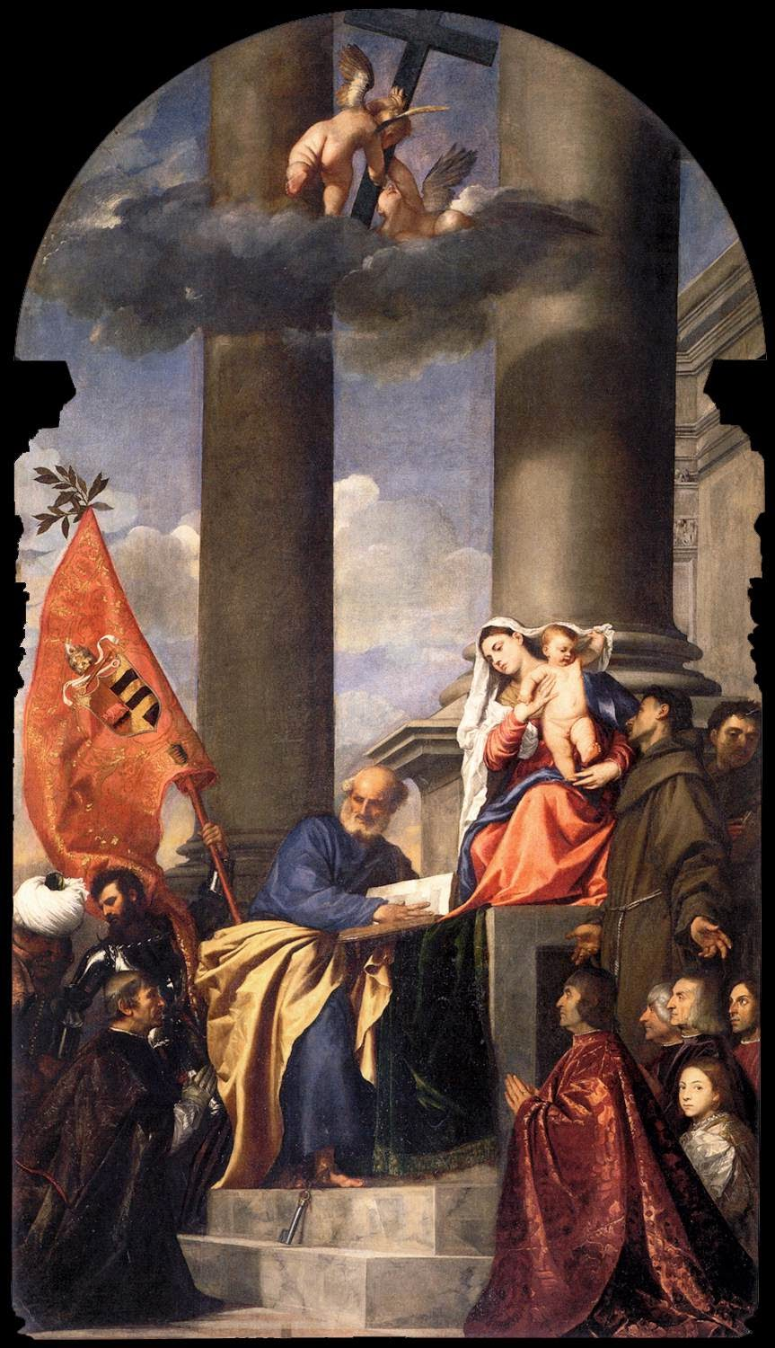 an analysis of the two altarpieces pesaro and assunta by titian A teacher's guide to the signet classics edition of william shakespeare's the merchant of venice 3 table of contents introduction.