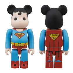 San Diego Comic-Con 2013 Exclusive Superman DC Universe 100% Be@rbrick by Medicom