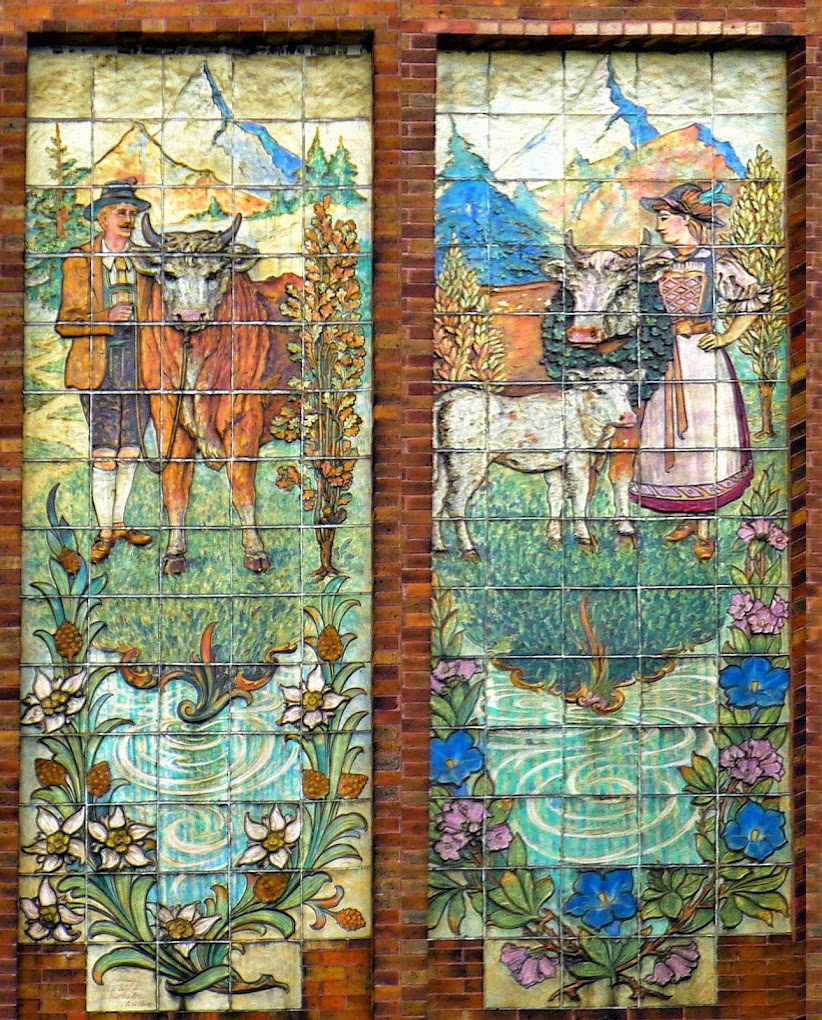 ARCHITECTURAL TILES, GLASS AND ORNAMENTATION IN NEW YORK