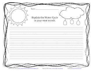 As Water Cycle Worksheet Kindergarten Moreover Free Science Worksheet ...