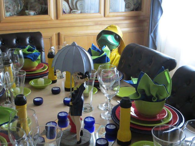The Welcomed Guest Winter In Humboldt County Ca Tablescape