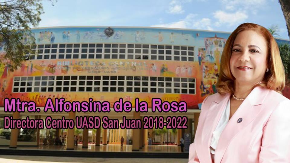 Alfonsina Directora Centro UASD San Juan 2018-2022