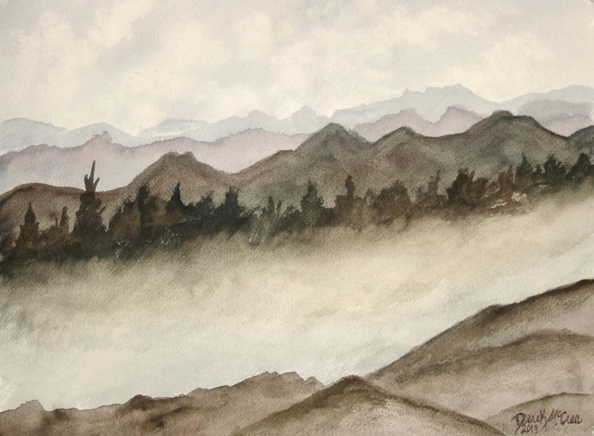 Watercolor Paintings - Art by Derek - 100.4KB