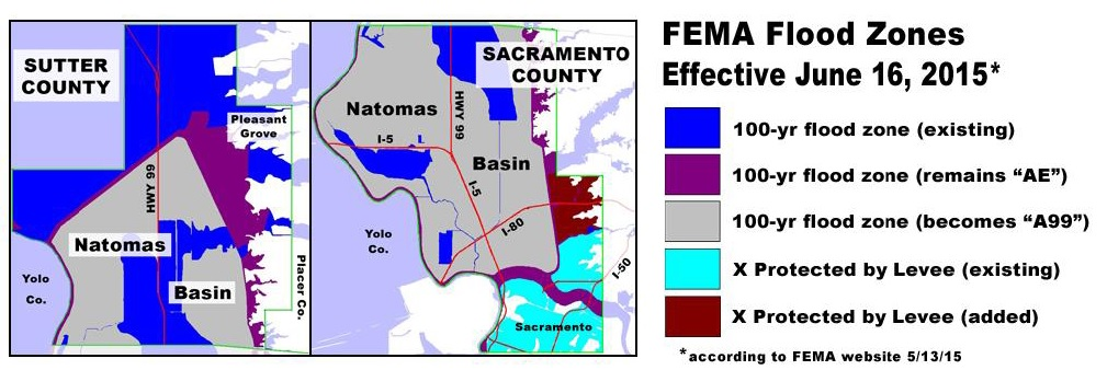 Natomas Flood Maps Have Been Updated - Zone x on fema flood map