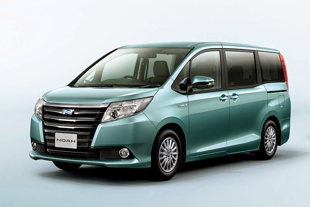 Image Gallery 2016 Toyota Noah