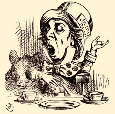 'The Mad Hatter' by Sir John Tenniel