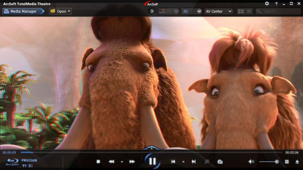 can windows media player play 3d movies