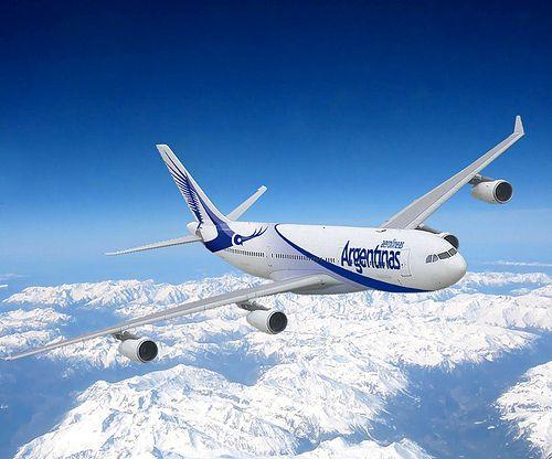 Gracias por volar en los cielos del Oeste de Argentina!