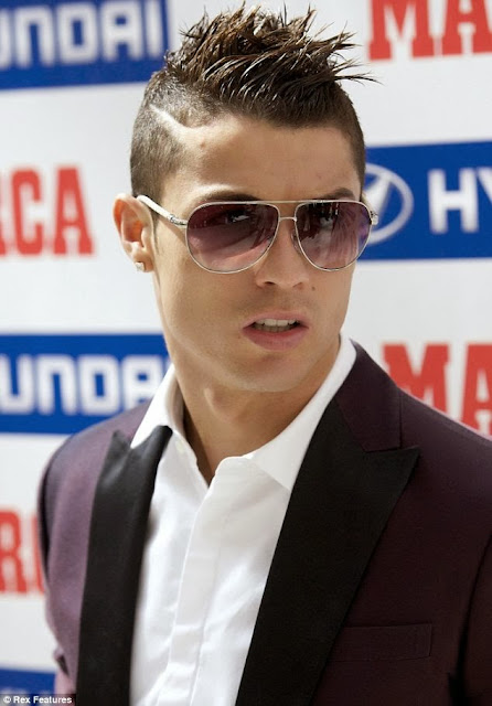 Cristiano Ronaldo hairstyle,