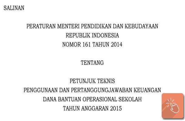Juknis Pembuatan Laporan SPJ BOS Tahun 2015