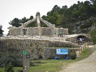 La Cava Arquejada es vist de diumengue.