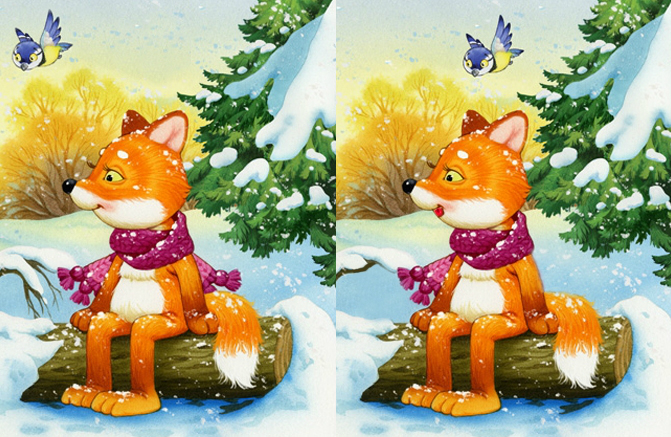 Juegos Gratis: Winter 5 Differences