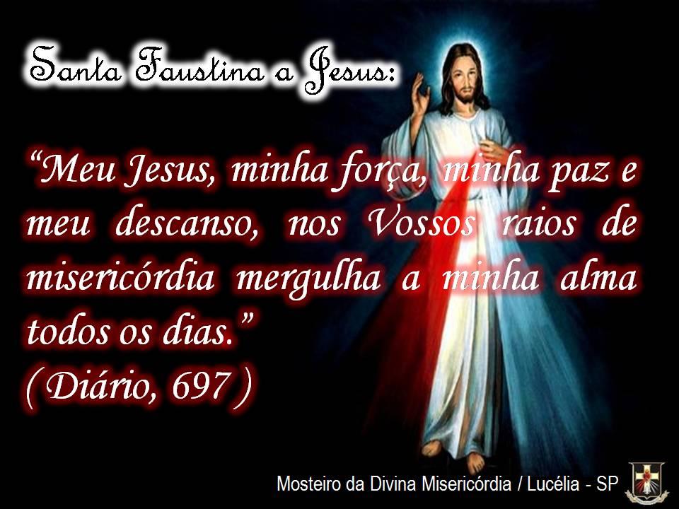 Santa Faustina Frases Irmãos De Jesus Misericordioso