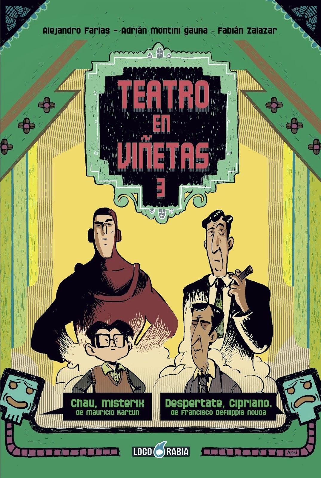 Teatro en Viñetas III