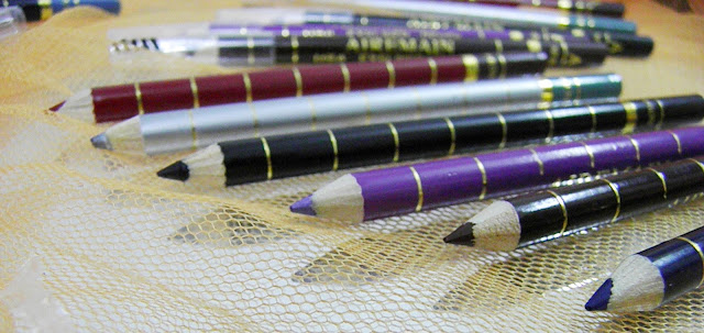 12 One side Eyeliner Pencils with Brush Eyeliner by Romwe