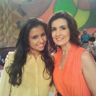 Flavia Mariano Encontro com Fátima Bernardes