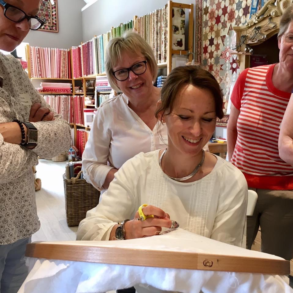Stage QUILTING Main 11-12 Juillet 2018