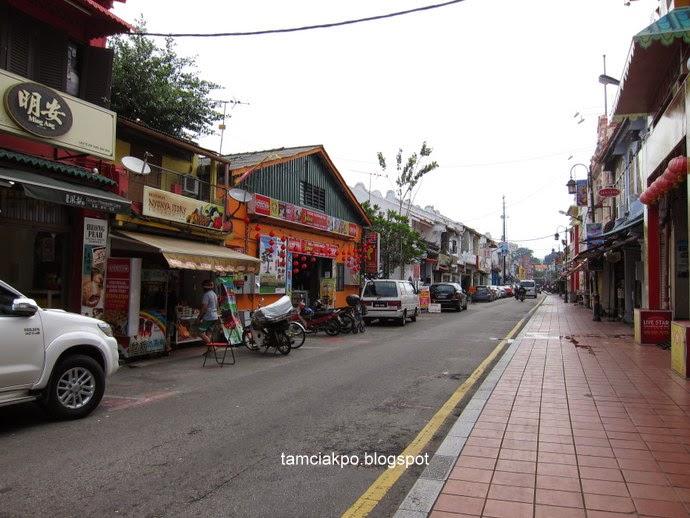 Melaka food trip along Jonker Street