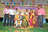 FELICITATION OF MR. M. HANUMANTHA RAO, STATE PRESIDENT ON HIS RETIREMENT