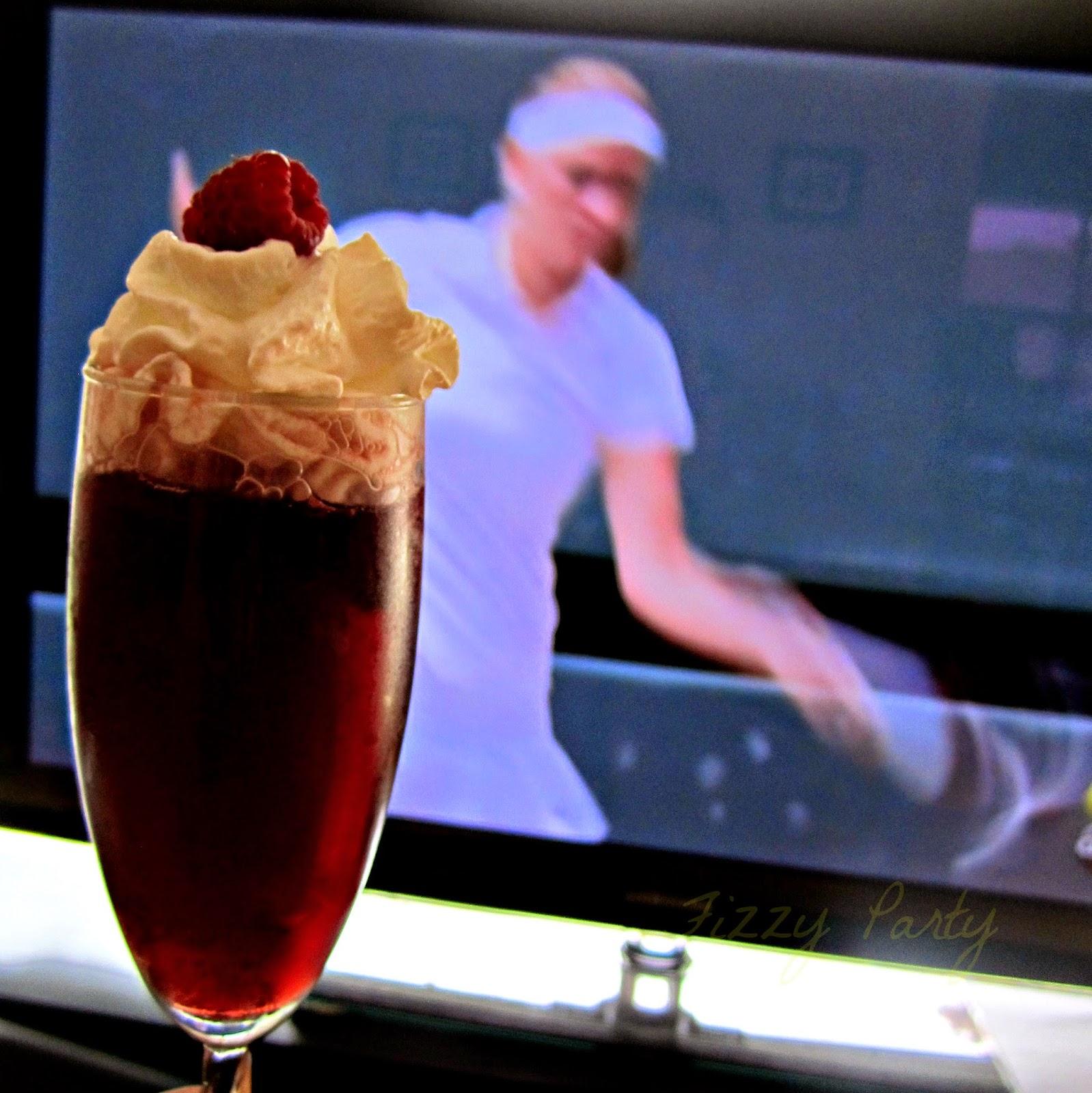 Wimbledon, Tennis, Raspberry champagne