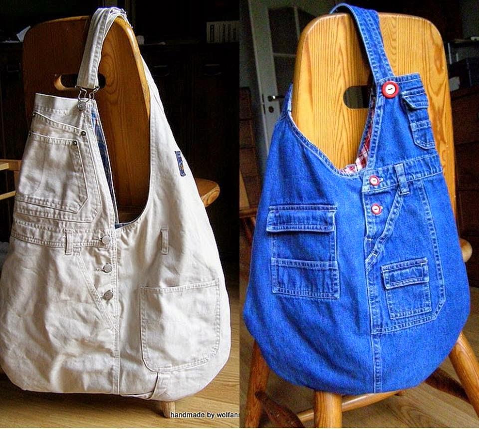 Фото джинсовых сумок своими руками
