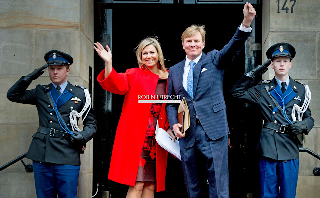 King Willem-Alexander, Queen Maxima, Princess Beatrix, Princess Margriet