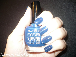 Maybelline Dark Denim swatch review