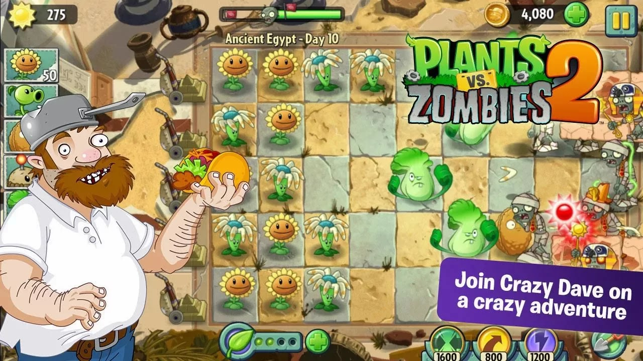 Plants vs. Zombies™ 2 v1.4.244592
