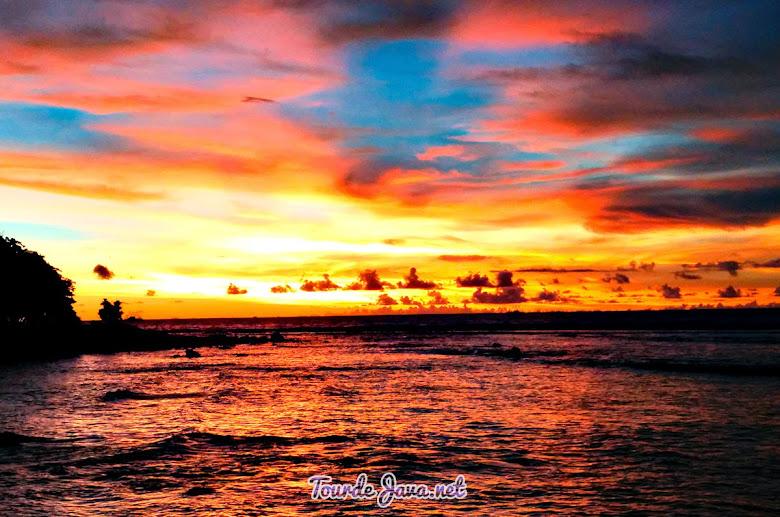 Sunset Tanjung Lesung