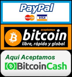 Medios de pago aceptados